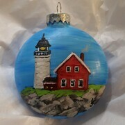 Lighthouse Ornament 18 ae