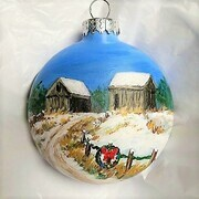 Quieting Barns Ornament 18b