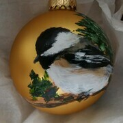 Chickadee Ornament 18s